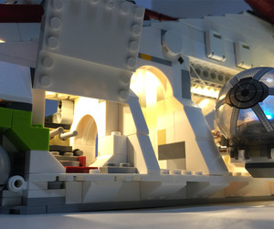 Image 3 - HA CONDOTTO LA luce kit per lego 75021 e 05041 Il Republic Gunship blocchi di costruzione (solo la luce kit incluso)