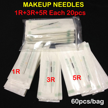 Mix Makeup Needles Professional Sterilized Permanent Makeup Needles