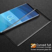 Imak 3D Cuverd verre trempé pour Samsung Galaxy S10 Plus E S10e S10plus S10 + 9H protecteur d'écran Note10 S9 Plus Film de protection