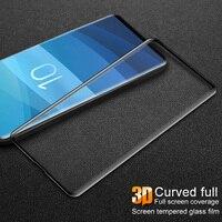 Imak 3D Cuverd Vidro Temperado para Samsung Galaxy S10 Plus E S10e S10plus Note10 S10 + 9H Protetor de Tela s9 Mais Película Protetora Protetores de tela de telefone     -