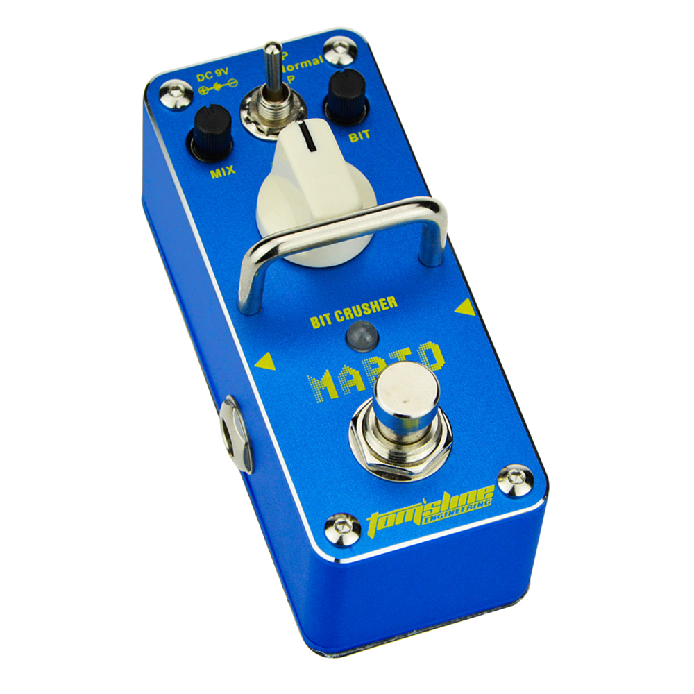 Tomsline AMO-3 MARIO Bit crusher Guitar Mini Analogue Effect True Bypass AROMA слингобусы ti amo мама слингобусы алба