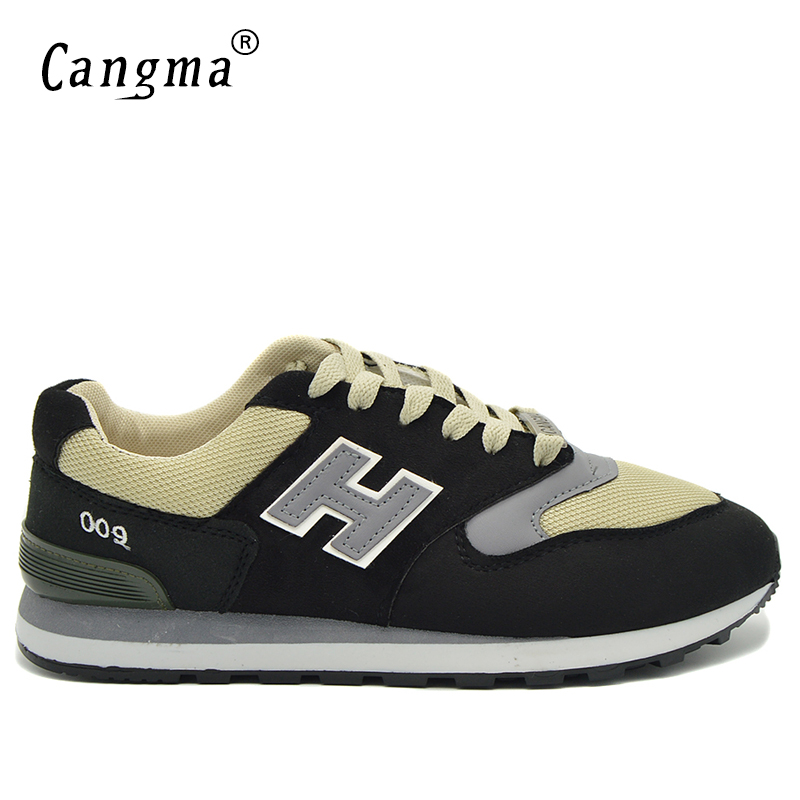 CANGMA Brand Men's Casual Shoes Men Mesh Light Breathable Sneakers Male Spring Autumn Lace Up Shoes high quality wooden laptop table multipurpose home computer desk students dormitory beds folding laptop tables