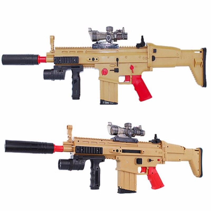 Zhenduo Jouet Gel Boule Blaster pistolet à eau CICATRICE fusil d'assaut peut lancement soft shell cristal bombe enfants de jouet Livraison gratuite