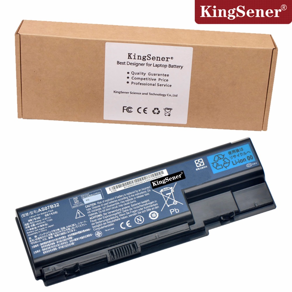 Japanese Cell AS07B32 Battery for Acer Aspire 5920 5920G 5930 5930G 5935 AS07B31 AS07B32 AS07B71 AS07B61 AS07B42 14.8V 4800mAh for acer aspire v3 772g notebook pc heatsink fan fit for gtx850 and gtx760m gpu 100% tested