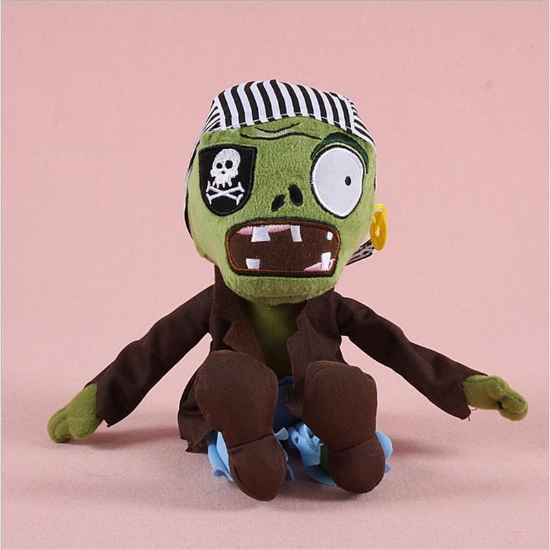 2017 hett försäljning Planter vs Zombies Plush Leksaker Mjukfyllda Plush Leksaker Doll Babyleksak för Kids Gifts Party Leksaker (is vattenmelon)