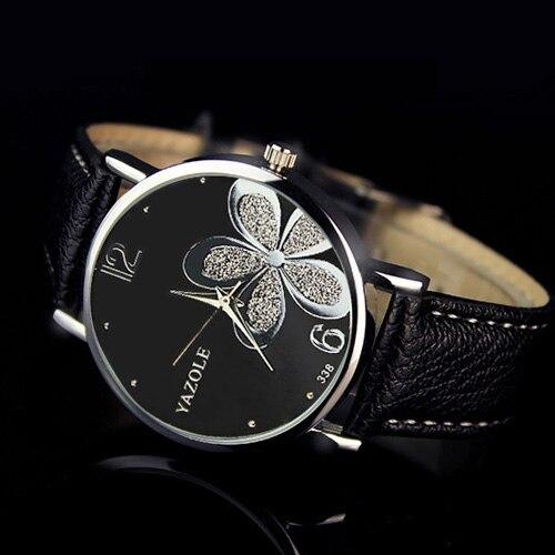 YAZOLE 2017 Fashion Women Watches Brand Famous Quartz Watch Female Clock Ladies Wrist Watch Montre Femme