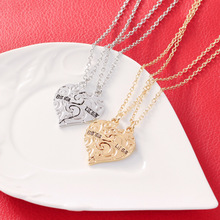 цены KYSZDL New fashion good friend BIG SIS LITTLE SIS good sister love pendant necklace jewelry wholesale