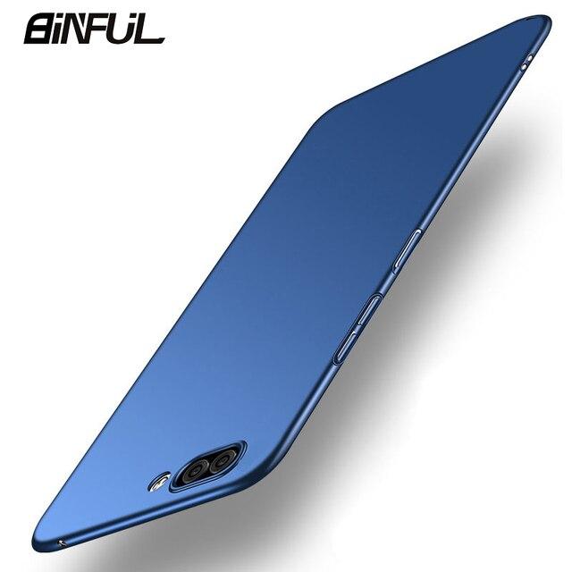 Funda de Huawei Honor 10 funda de negocios Ultra delgada dura PC funda trasera para Honor10 10 Lite View10 fundas Protector de teléfono coque Capa