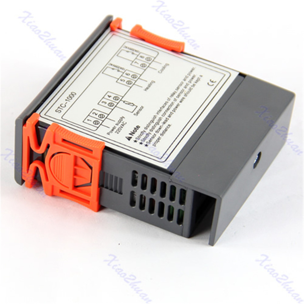 Digital Temperature Controller Stc 1000 All Purpose 110 220v Ac Whit The Stc1000 Is A With Sensor That In Instruments From Tools On Alibaba Group
