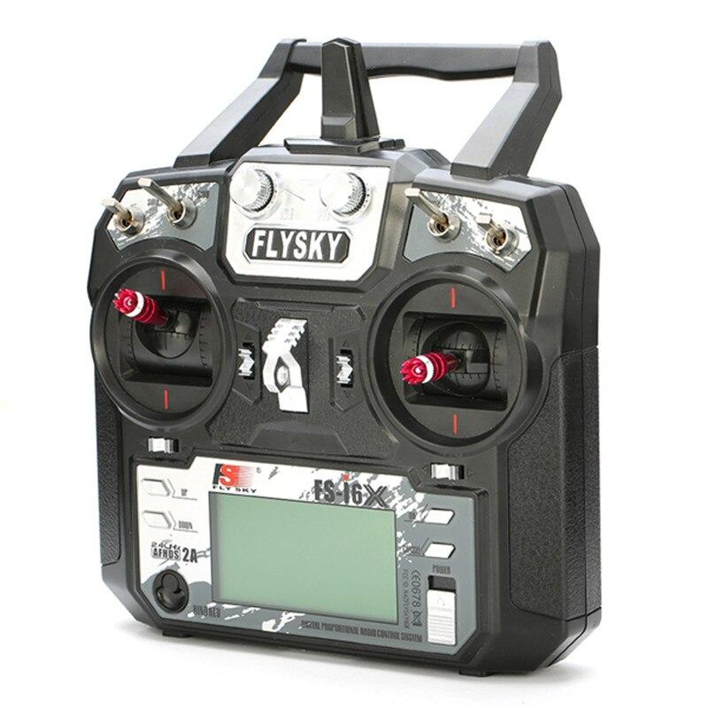 FS-i6X Flysky i6X 2.4GHz 10CH AFHDS 2A transmetteur RC avec récepteur X6B iA6b i-bus A8S pour Mode avion Rc 1 Mode 2 - 2