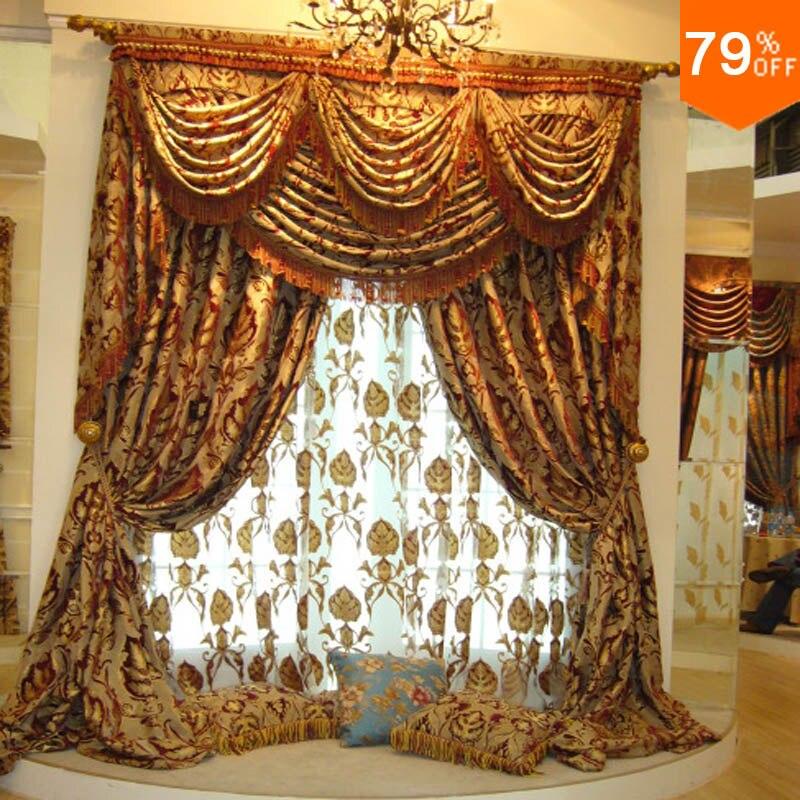Gris Argent Fleurs rideaux Salle À Manger rideau Classique Designe ...