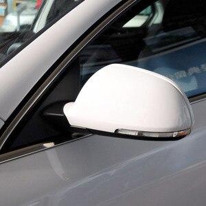 Image 3 - Accesorios originales para auto Hengfei espejo cubierta espejo carcasa para Skoda Superb Octavia