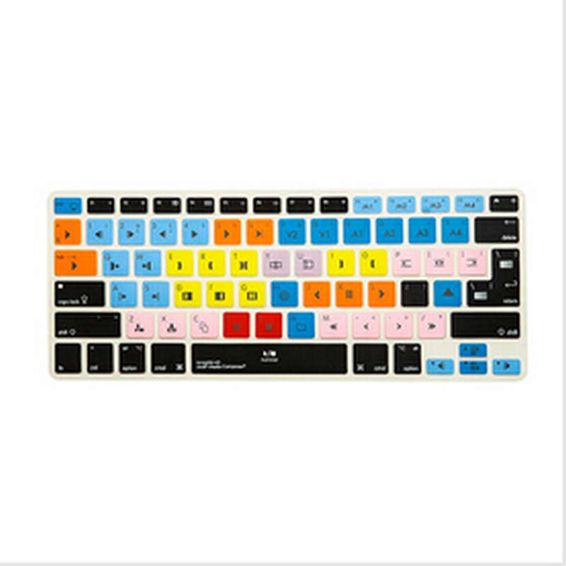 para MacBook Retina de 12 pulgadas para teclado inal/ámbrico Apple Magic Protector de silicona para teclado ruso//alem/án
