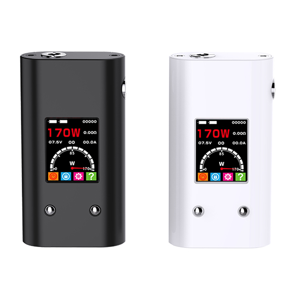 SALE Smy 170TC Box Mod Temperature Control 170W Mod Box VW VT Mode Electronic Cigarette Vape Pen Mod original smy 75w mini tc box mod