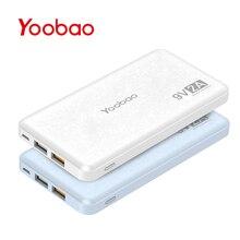 Yoobao Q12 Charge Rapide 12000 mAh Externe Portable Batterie 5 V/9 V/12 V USB Double Mobile Powerbank pour l'iphone Samsung Xiaomi LG