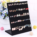 25*20cm Wholesale 2015 Hot Selling New Black Color 30 Pair L-type Jewelry Holder Organizer Earrings Display Stand