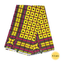 Black And White Colour Block Ankara Wax Traditional The Classic Pattern Real Wax Super Hitarget Wax