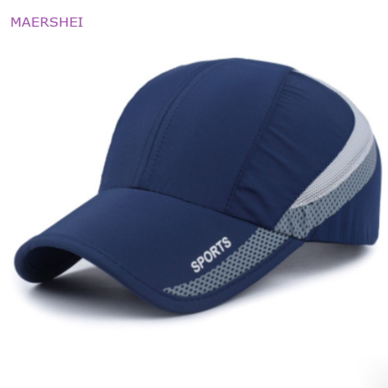MAERSHEI Quick-drying Sports Baseball Cap golf hat truck driver Sanpback Hat