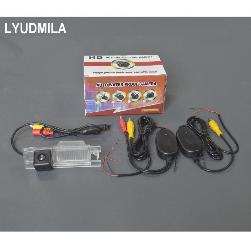Lyudmila Wireless Camera For Alfa Romeo 156 / 159 / 166 / 147 Car Rear view Camera / HD Back up Reverse Camera CCD Night Vision alfa romeo 166