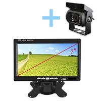 Parking camera, reversing and front with black monitor, ideal for used tractor, used agricultural equipment and industrial. VI