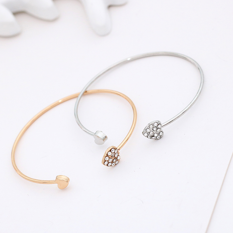 Simple-Double-Love-Heart-Bracelet-Femme-Rhinestone-Heart-Bracelets-For-Women-Gold-Silver-Metal-Opening-Bangles (1)