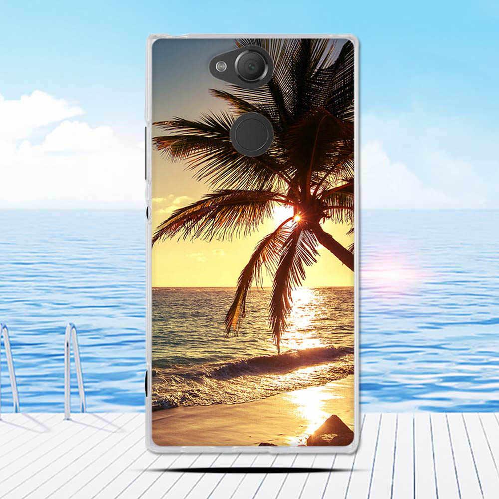 Coque pour Sony Xperia XA2 XA 2 housse double mignon Silicone souple Fundas housse pour Sony Xperia XA2 Ultra XA 2 housse pare-chocs Coque