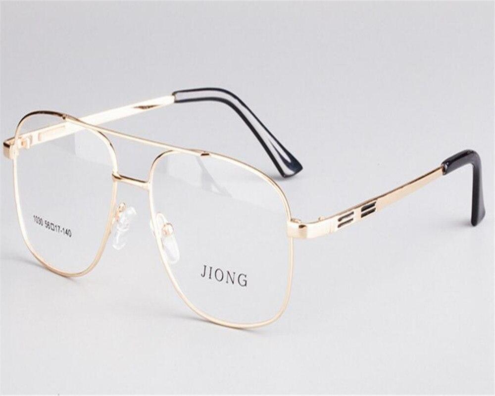 Men's Glasses Apparel Accessories Self-Conscious 56-17-140 Business Men Oversized Frame Full Rim Gold Silver Prescription Lens Eyeglasses Presbyopia Reading Glasses Zjh1030 Customers First