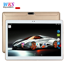 DHL Free Shipping 10 inch Tablet PC Octa Core 4GB RAM 64GB ROM Dual SIM Card Android 7.0 GPS Tablets PCs Call phone Gifts MT6592