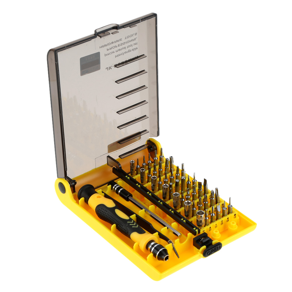 45 in 1 Professional Hardware Screw Driver Tool Kit ...