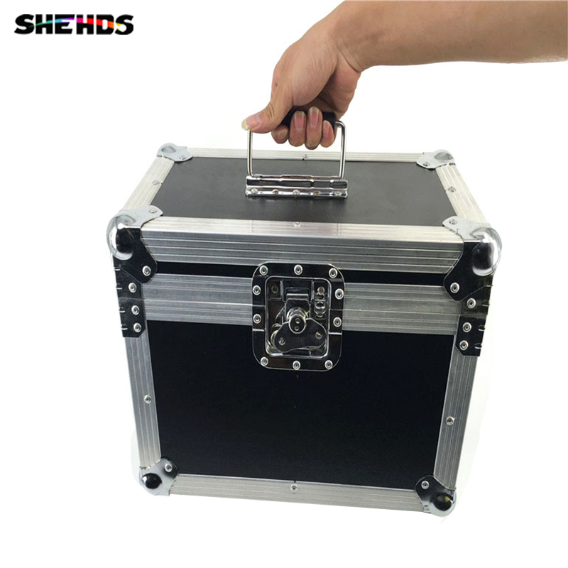 Flight Case with 2 pieces 2eyes 200W LED COB Blinder Cool and Warm White/ Cool White/Warm White Lighting for Disco KTV Party