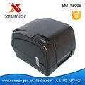 TSC T300E 300 точек/дюйм Настольных Термотрансферный Принтер Штрих-кода Принтер Имя Sicker Принтера TSC Новые Продукты