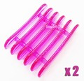 2pcs Professional Nail Art Brush Pen Rest Holder Stand Acrylic UV Gel Nail Polish Styling Tools