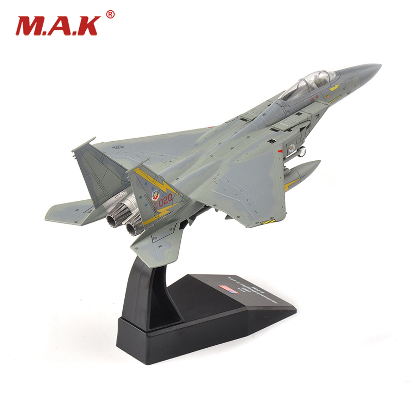 1 100 Scale USA 1985 Mcdonnell Douglas F 15A Aircraft Diecast Fighter Model font b Toys