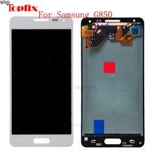 Для 4,7 «samsung Galaxy Note 4 мини ЖК-дисплей G850F Дисплей Сенсорный экран планшета Ассамблеи для samsung Alpha G850 ЖК-дисплей