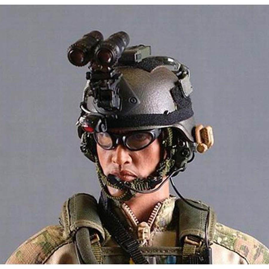 FMA MS2000 Military Airsoft Distress Marker Functional Strobe Light Helmet TB702