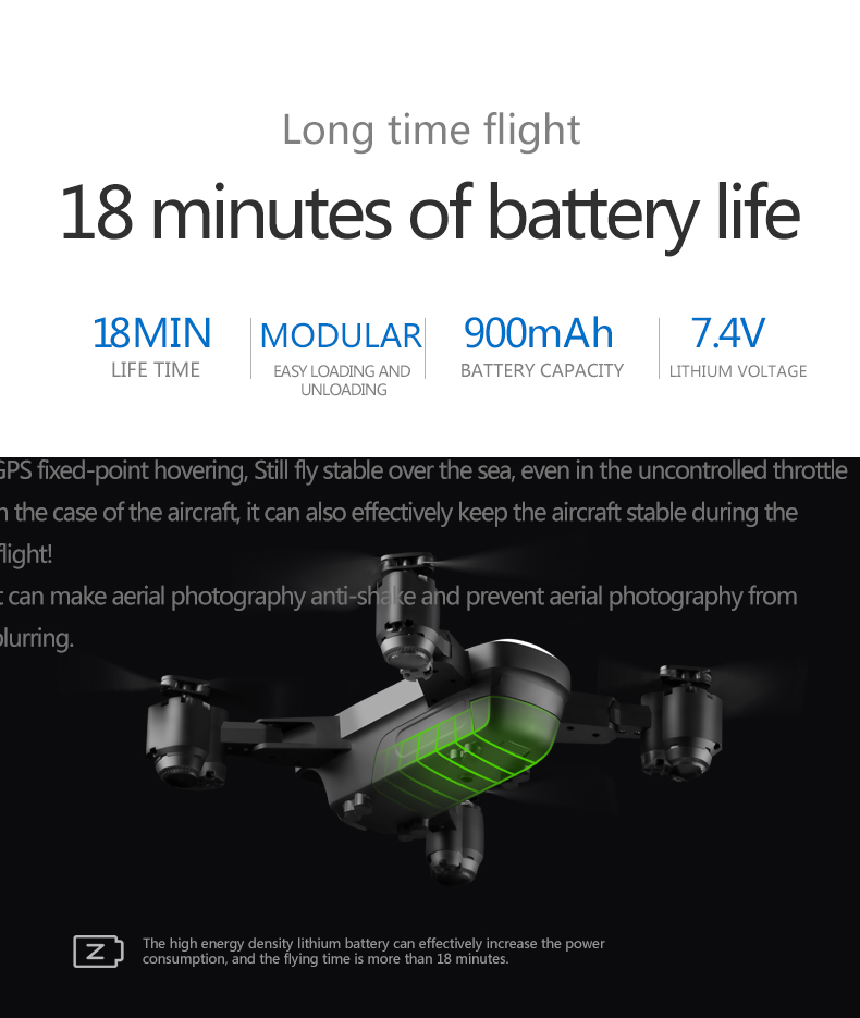 GPS Drone Follow Me FPV Helicopter With 1080P HD 5MP Wide-Angle Camera Auto Return Altitude Hold Headless Mode Dron Professional 23