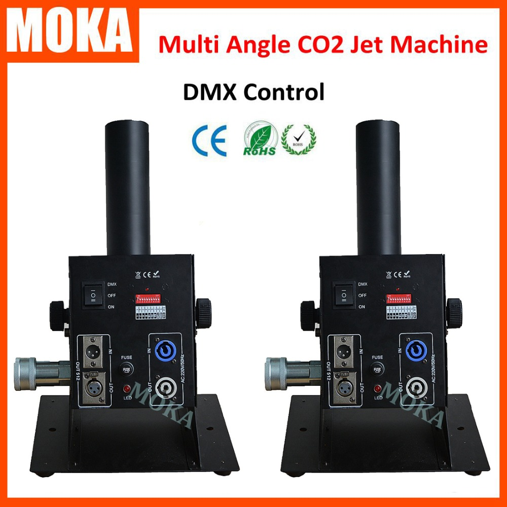 2 PCS/lot DMX Control CO2 Jet Smoke Cannon Machine Special Power Effects Co2 Jet Smoke Machine2 PCS/lot DMX Control CO2 Jet Smoke Cannon Machine Special Power Effects Co2 Jet Smoke Machine