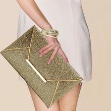 Heißer Verkauf Mode Frauen Abendtaschen Partei Handtaschen Geldbörsen Weibliche PU Pailletten Haspe Umschlag Taschen Frauen Kleine Kupplung Handtaschen