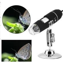 Cheap price Microscope Camera USB 1 pc Digital Microscope 1000X 8 LED 2MP Microscope For Kid Magnifier Camera Soldering Microscope .