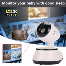 giantree 100 million pixels HD 1080P DVR Webcam WiFi IP Camera 360 degree rotation Baby monitor Home safety monitoring UK plug(China)