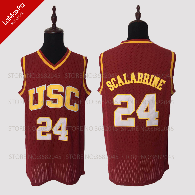 1a439c1b47c Buy vintage usc basketball jersey and get free shipping on AliExpress.com