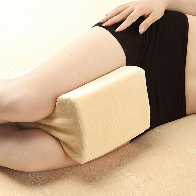 Foot Massage  Knee Pillow Clip Leg Positioner Memory Foam Wedge Slow Rebound Memory Cotton Clamp Massage 2