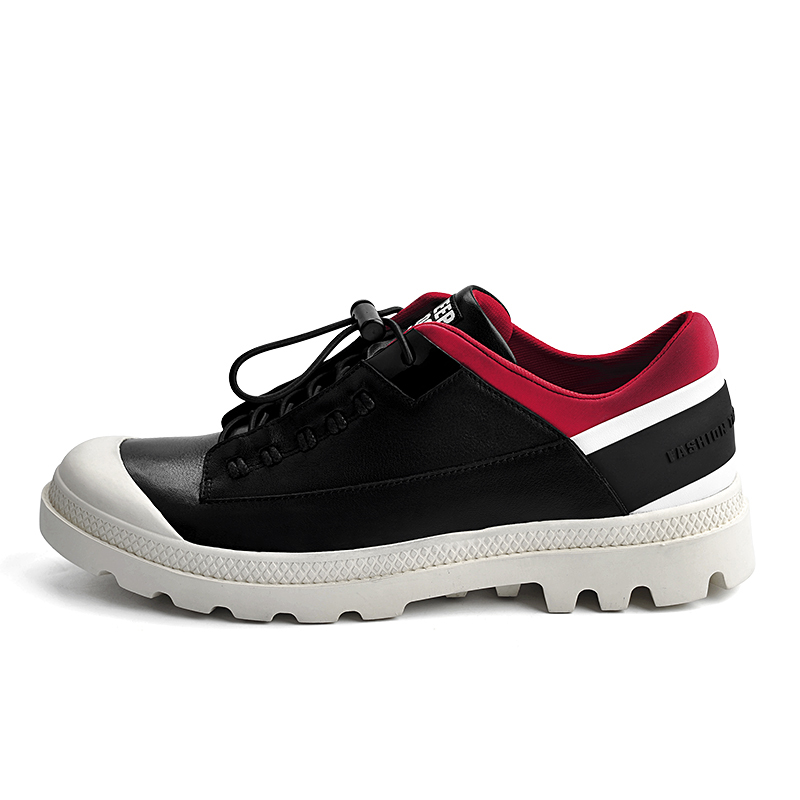 Transpirables Hombres Mocasines Zapatos Ligero 2018 Mycolen otoño Negro Moda Primavera Sepatu Casual blanco Negro Nuevo Pria waAYXq1I