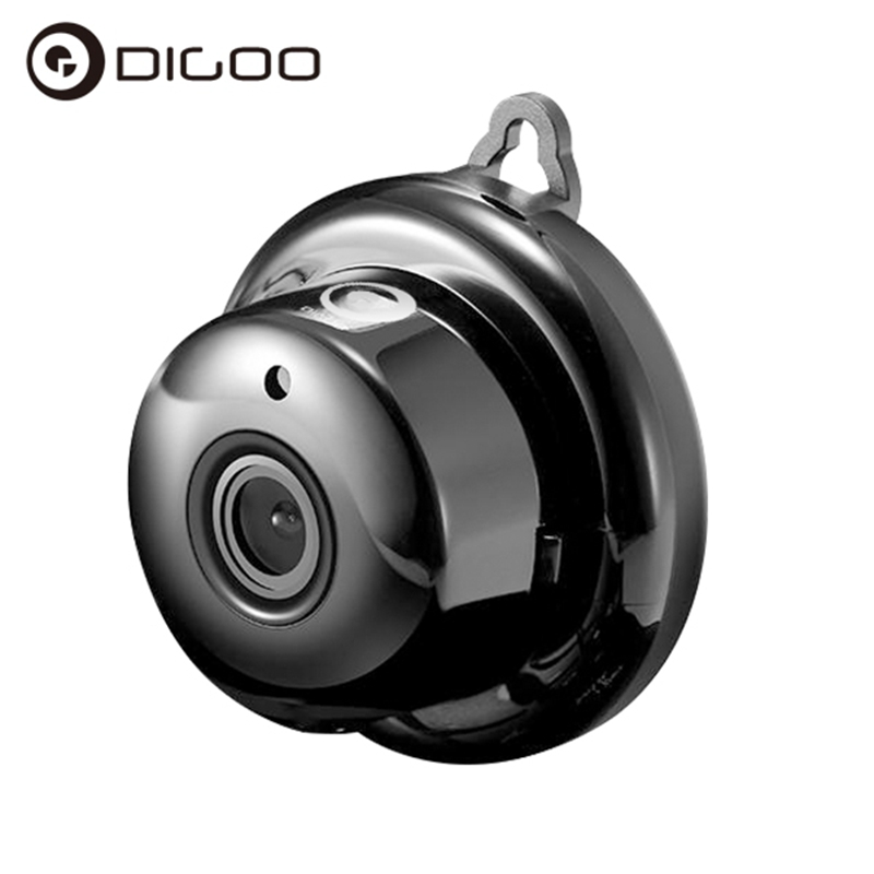 Digoo DG-MYQ 2.1mm Lens 720P WIFI Night Vision Two-way Audio Smart Home Security IP Camera Motion Detection Alarm Cloud Storage 720p wifi ip camera ir night vision two way audio wide angle smart home security cam support motion detection