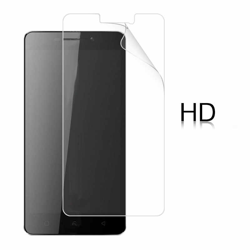 HD Clear Glossy Film untuk Lenovo VIBE P1 5.5 Anti-Silau Sidik Jari Anti Goresan LCD layar Film Penutup + Kain