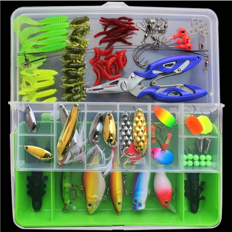 Set of 101sets artificial lure baitslure multi-functional swimming - Fishing - Photo 1