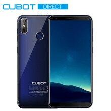 "Cubot R11 телефон Dual SIM Android 8,1 5,"" HD+ Дисплей MT6580 4 ядра 2 ГБ+ 16 Гб пальца ID двойные задние Камера Celular 2800 mAh"
