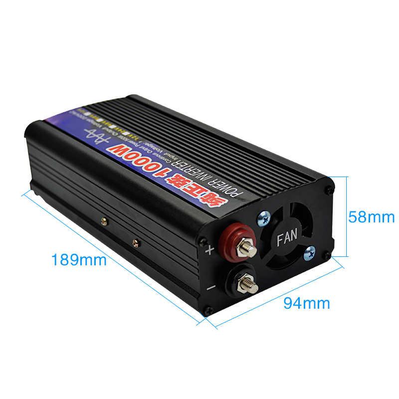 """AIYIMA 1000 Вт Чистая синусоида Инвертор DC12V/24 V постоянного тока до AC220V 50 Гц Мощность усилитель конвертера для автомобиля Инвертор бытовой """"сделай сам"""""""