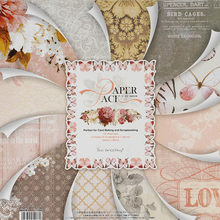 WISHMETYOU Beautiful Printed Pattern Paper Scrapbooking Set Of 24 Sheets Handmade Background Diy Decor Photo Album Craft Paper(China)