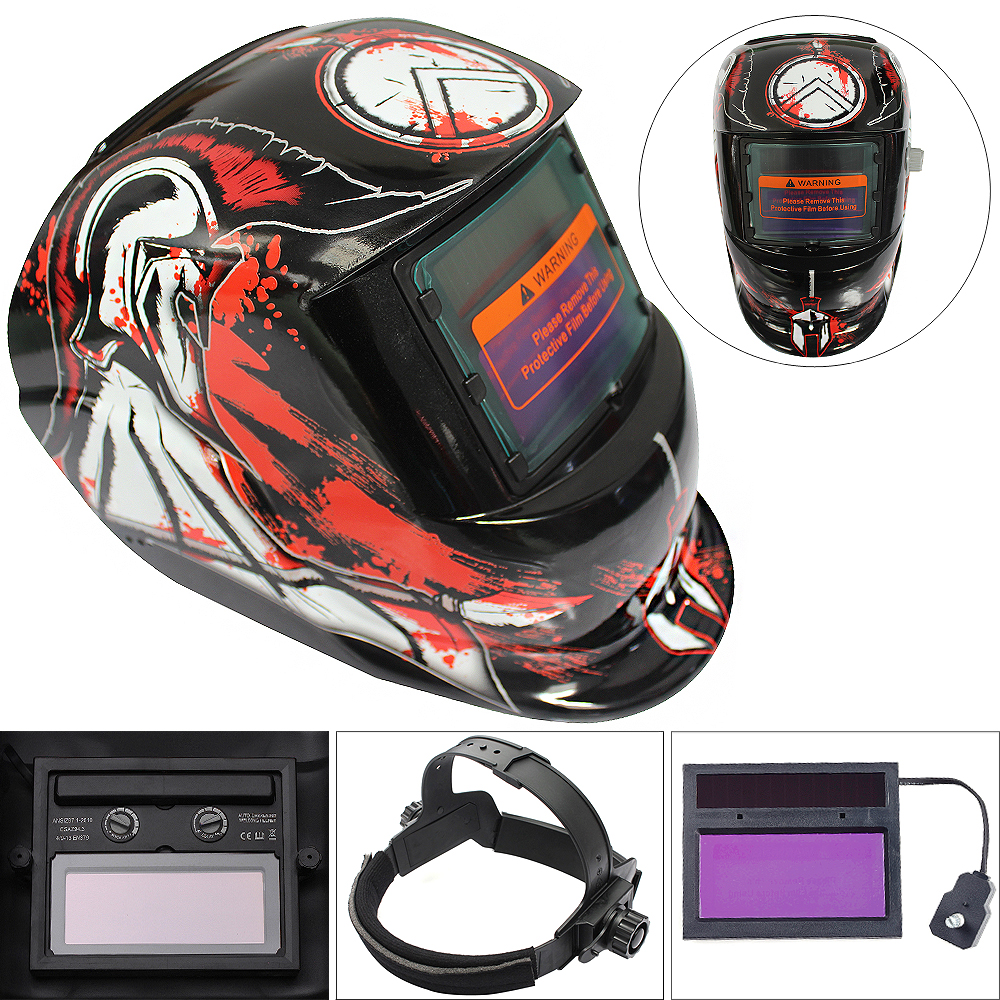 Sale Dead Cat Adjust Solar Auto Darkening TIG MIG Grinding Welding Helmets / Face Mask / Electric Welding Mask / Weld Cap ck tech auto darkening welding helmets electric welding hood mask tig mig arc welding face shields optical filter 3116